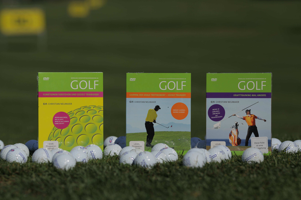 DVD von Christian Neumaier - Golf - Chippen -Funktionen -Krafttraining - Golftraining