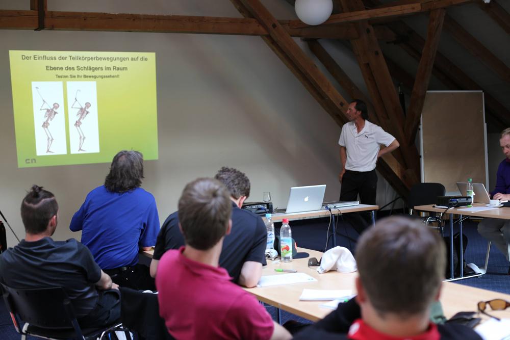 Seminare - Workshops und Fortbildungen für Golflehrer - Biomechanik - Anatomie - Bewegungssehen - Biomechanik - Christian Neumaier