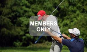 Linksarmzug - Golfbewegung verstehen - Golftraining mit Christian Neumaier