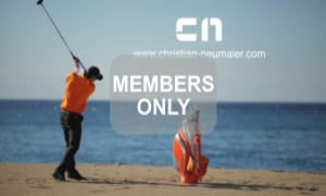 Meine Welt des Golfsports Krafttraining mal anders Christian Neumaier