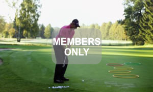 Hula Hoop Golf - Chippen - Der ideale Treffmoment gezielt trainiert von Christian Neumaier
