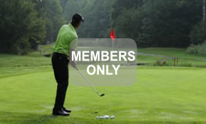 Aufgabe der Arme - Golf - Chippen - Der ideale Treffmoment gezielt trainiert von Christian Neumaier