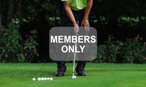Aufgabe der Hände - Golf - Chippen - Der ideale Treffmoment gezielt trainiert von Christian Neumaier