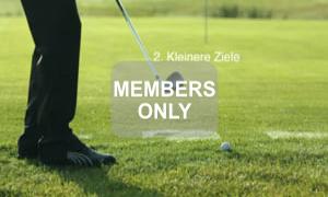 Kleinere Ziele - Golf - Chippen - Der ideale Treffmoment gezielt trainiert von Christian Neumaier