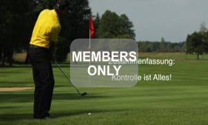 Kontrolle - Golf - Chippen - Der ideale Treffmoment gezielt trainiert von Christian Neumaier