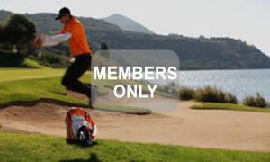 Hindernissprung Golf Krafttraining mal anders von Christian Neumaier