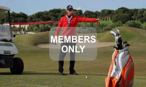 Armverschiebung mit Theraband Golf Krafttraining mal anders von Christian Neumaier