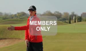 Armverschiebung Golf Krafttraining mal anders von Christian Neumaier