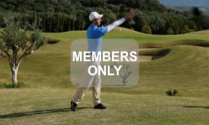 Druckwurf Golf Krafttraining mal anders von Christian Neumaier