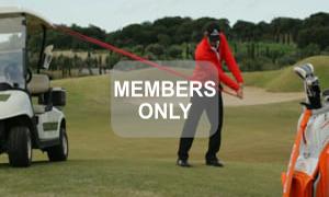 Schräger Armzug Golf Krafttraining mal anders von Christian Neumaier