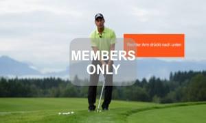 Beugen und Strecken - Golf - Chippen - Der ideale Treffmoment gezielt trainiert von Christian Neumaier