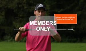 Ideale Landezone - Golf - Chippen - Der ideale Treffmoment gezielt trainiert von Christian Neumaier