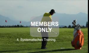 Systematisches Training - Golf - Chippen - Der ideale Treffmoment gezielt trainiert von Christian Neumaier
