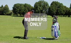 Richtung mit rechts - Golf verstehen - Golftraining mit Christian Neumaier