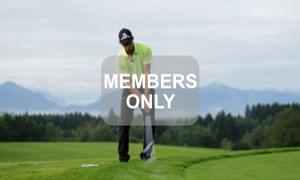 Handwinkel - Golf - Chippen - Der ideale Treffmoment gezielt trainiert von Christian Neumaier