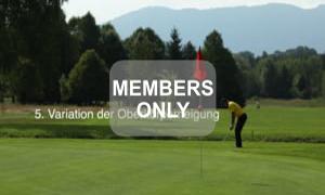 Oberkörperneigung - Golf - Chippen - Der ideale Treffmoment gezielt trainiert von Christian Neumaier