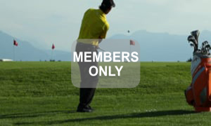 Grundhaltung - Golf - Chippen - Der ideale Treffmoment gezielt trainiert von Christian Neumaier