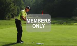 Schwungrichtung - Golf - Chippen - Der ideale Treffmoment gezielt trainiert von Christian Neumaier