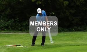 Schieben - Golf - Chippen - Der ideale Treffmoment gezielt trainiert von Christian Neumaier