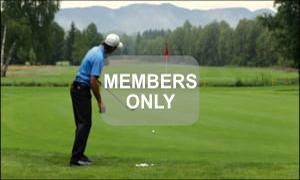 Linke Hand - Golf - Chippen - Der ideale Treffmoment gezielt trainiert von Christian Neumaier