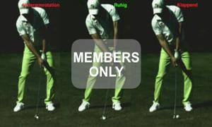 Handkontrolle - Geradeaus - Golf verstehen und können - Golftraining mit Christian Neumaier