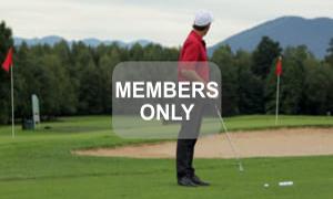 Sicher ans Ziel - Golftraining mit Christian Neumaier