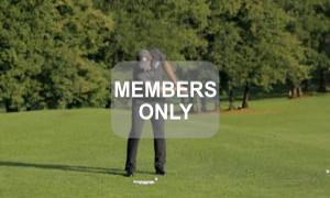 Kopf unten lassen - Golfbewegung verstehen - Golftraining mit Christian Neumaier