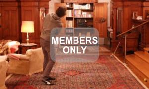 Christian Neumaier macht Musik lauter mit Golfschlag