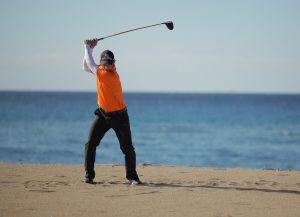 Christian Neumaier - Drive am Strand - Golfschule Beuerberg