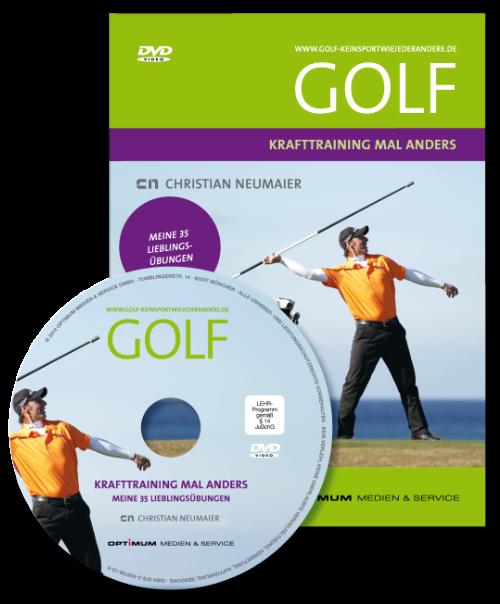 DVDs für Ihr Golftraining zuhause von einem der besten Golflehrer Deutschlands.Mehr Power beim Drive durch golfspezifisches Krafttraining.