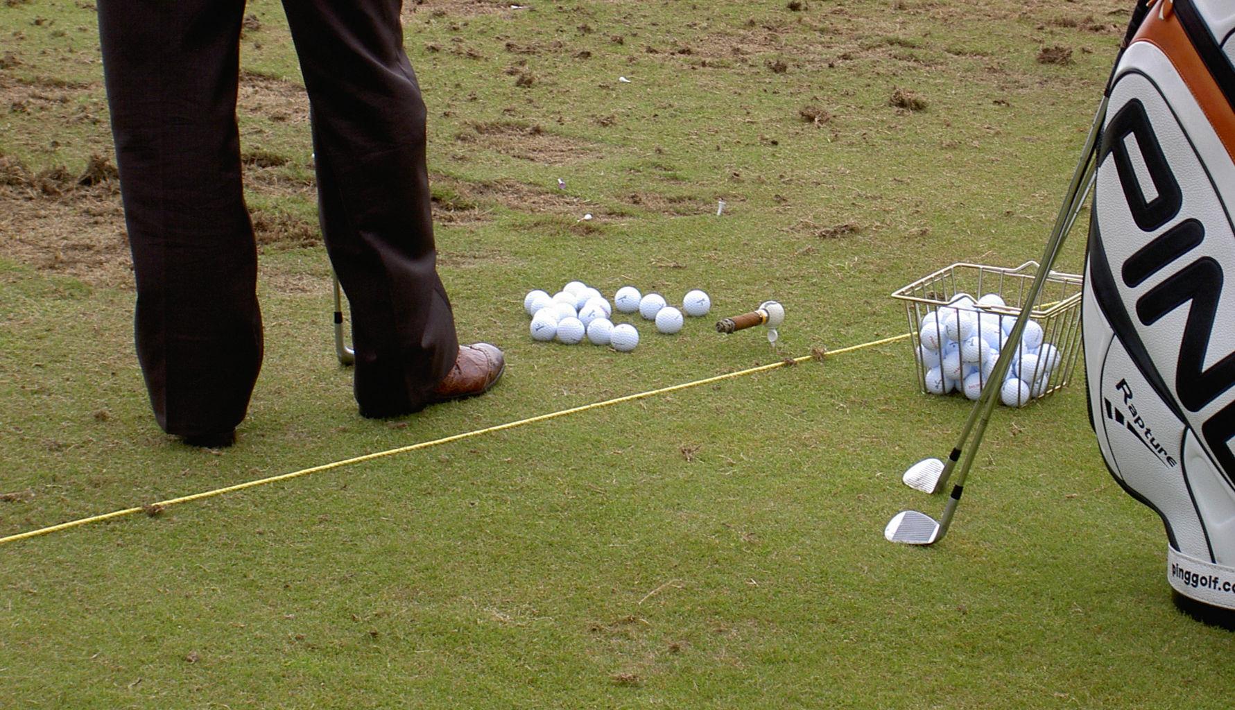 Golftraining - Driving-Range-Gewohnheiten