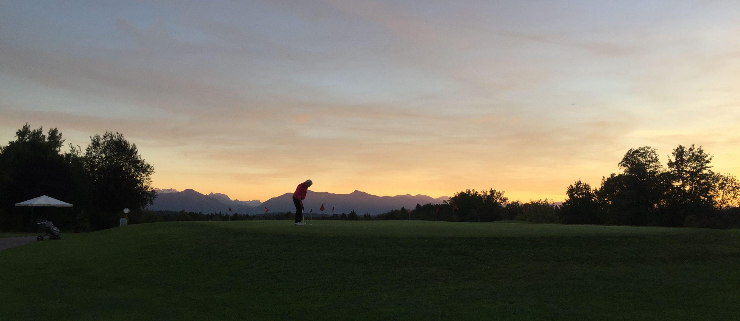 Golf und Berge - Zeit für die Seele