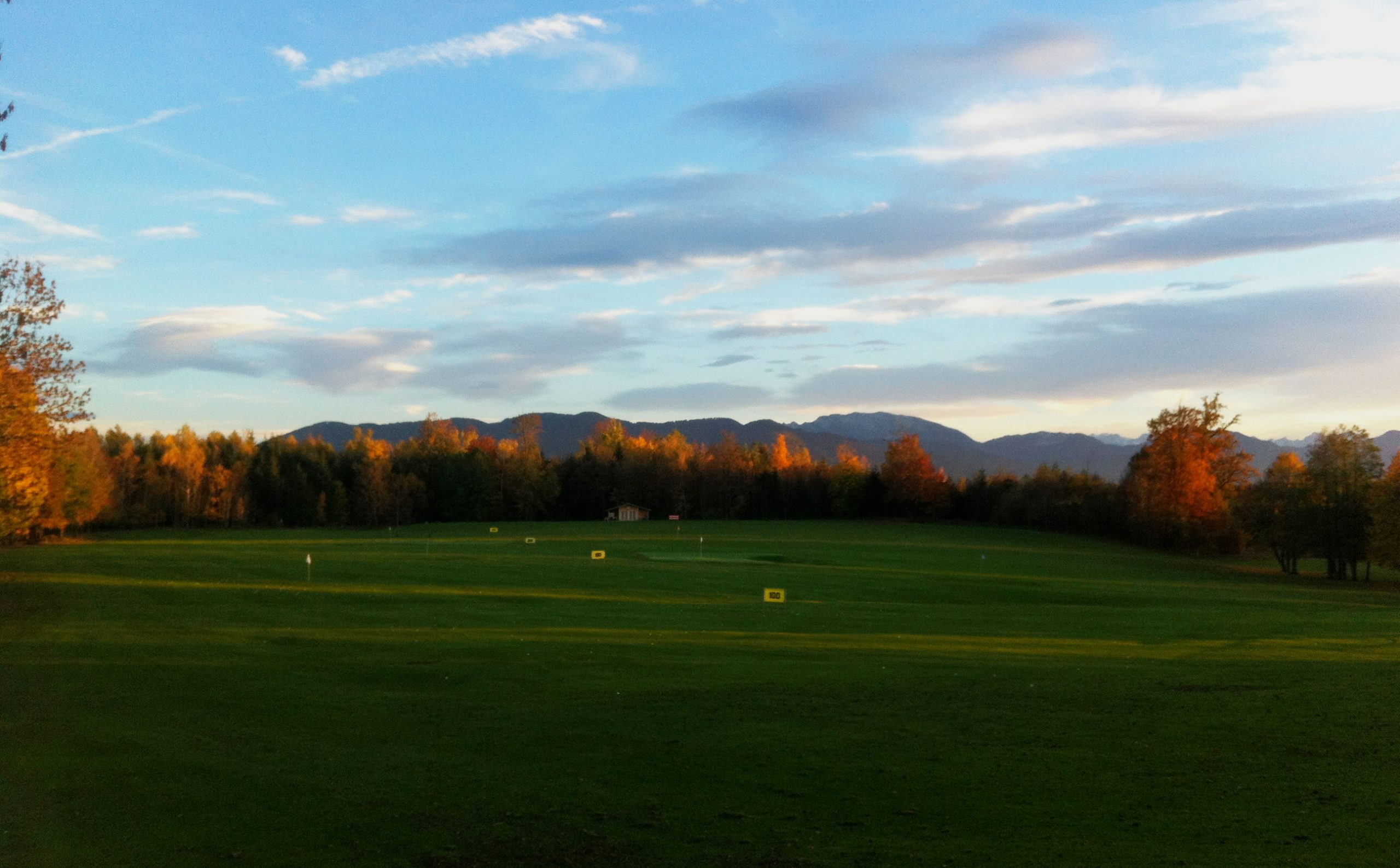 Golftraining im Golfclub Beuerberg - Driving-Range