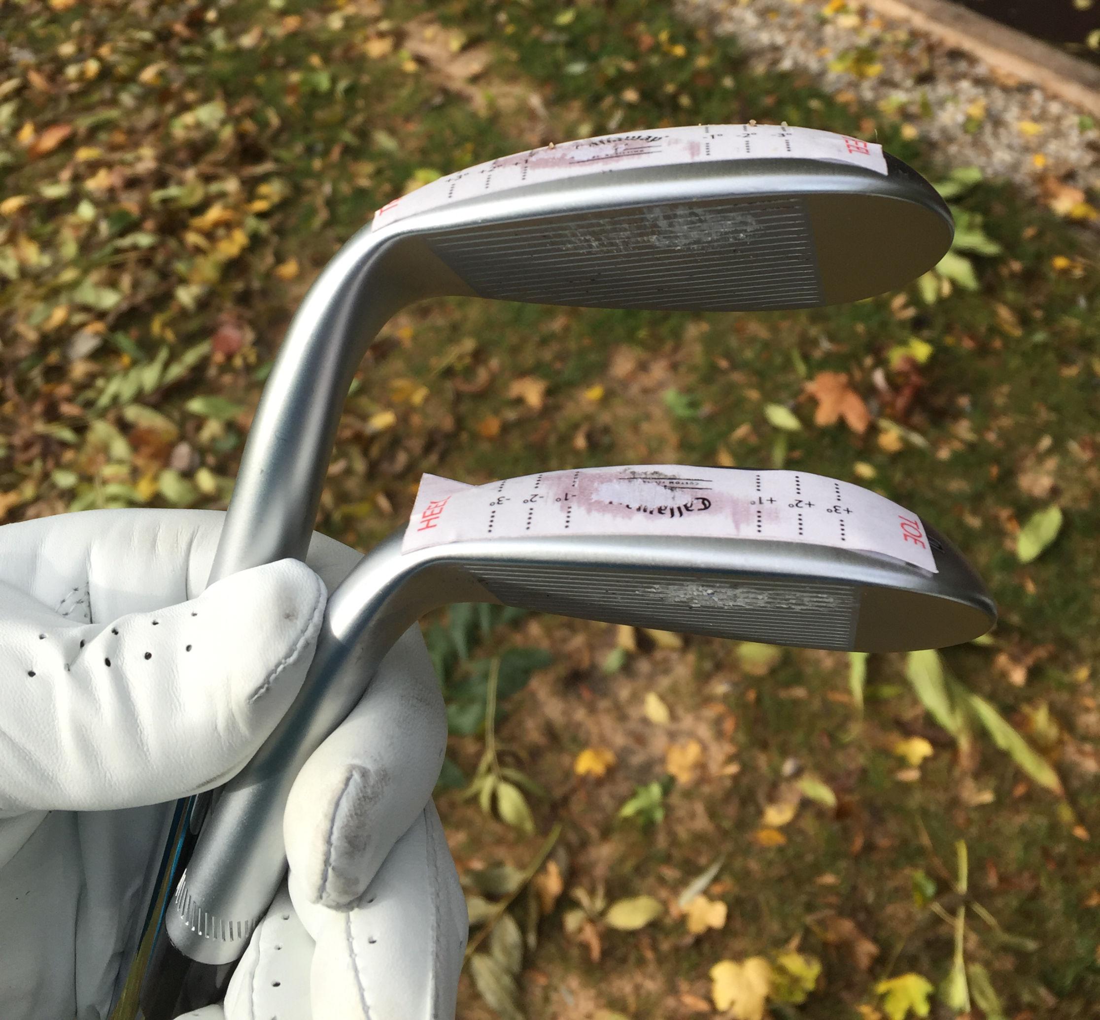 Golfschläger-Lie-Fitting