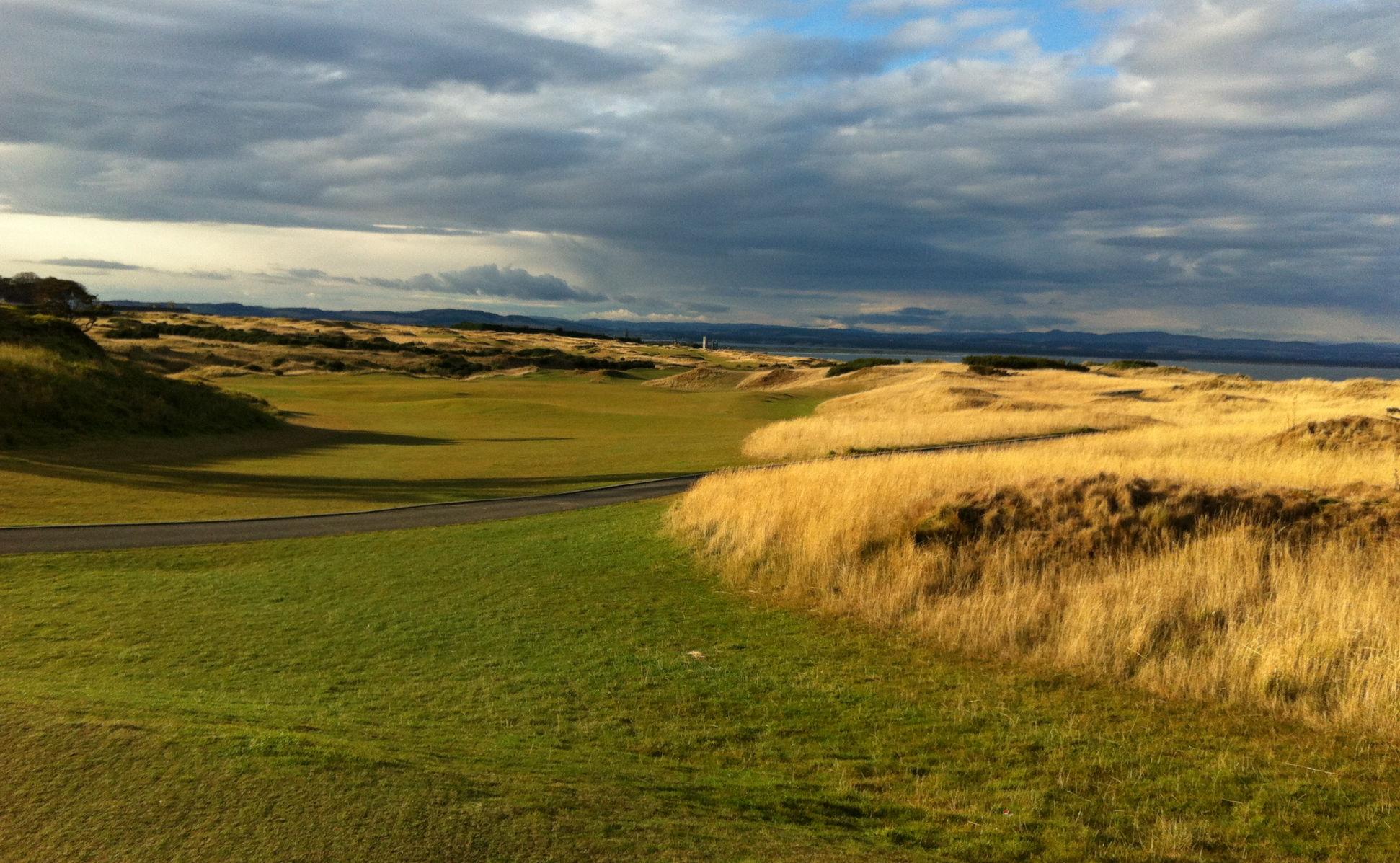 Golftraining - Mit schweren Bedingungen umgehen lernen - Schottland - Castle Course