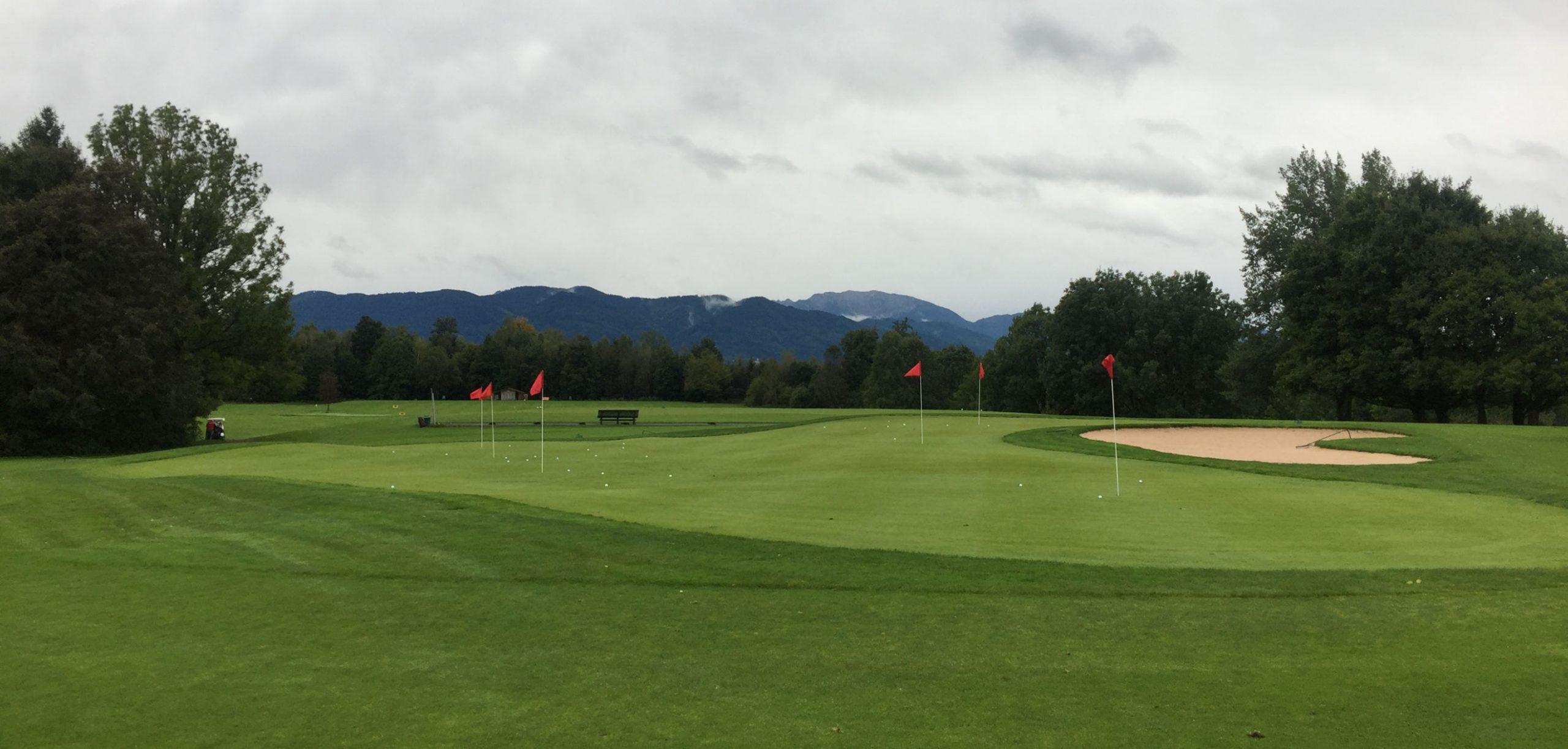 Golftraining und Zeit für sich auf der Driving-Range im Golfclub Beuerberg