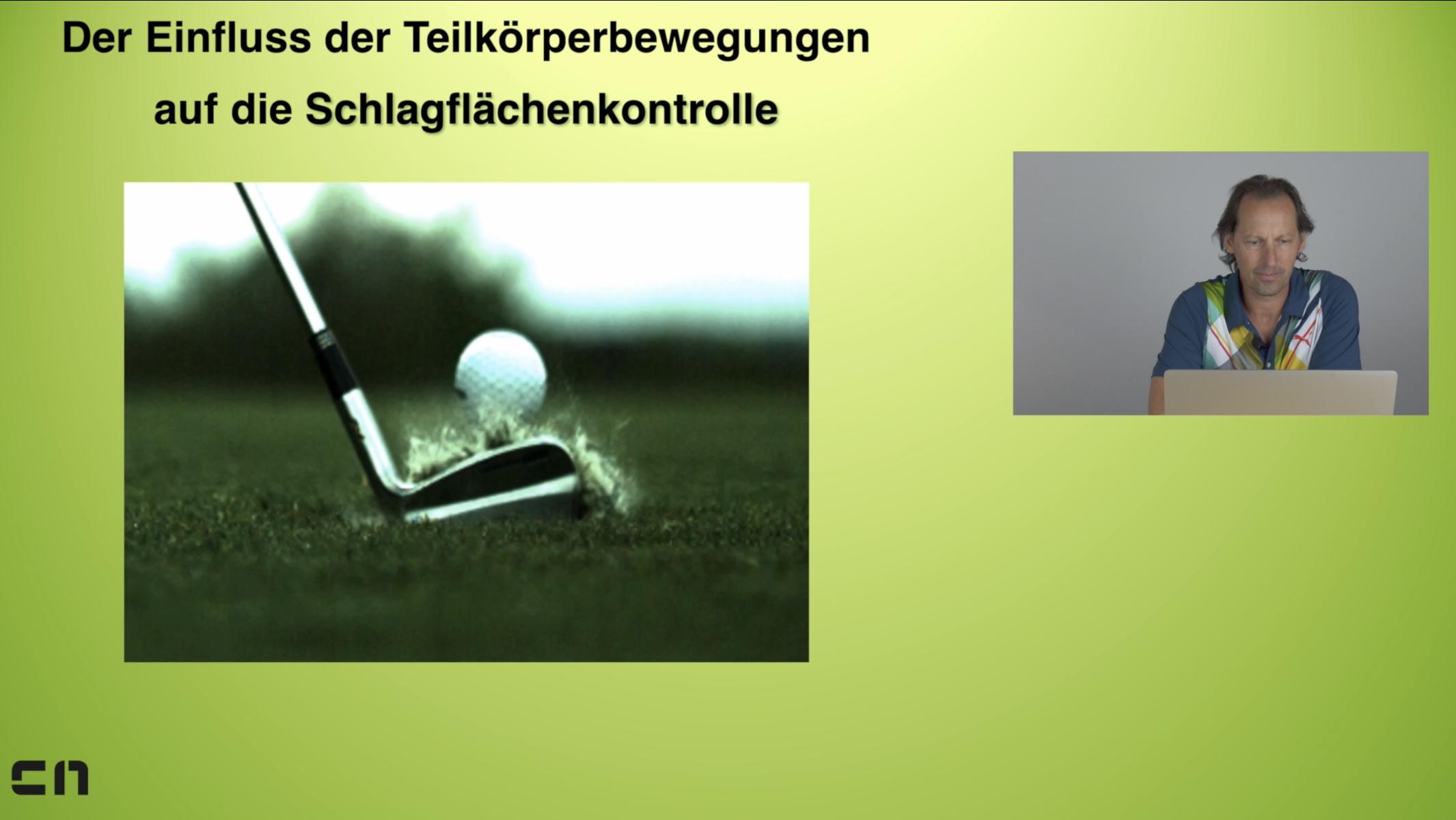 Das Bewegungssystem des Menschen im Golfsport - Online-Seminar