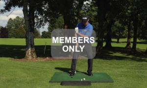 Golf lernen - Eisen mit Loft