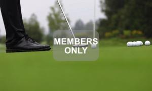 Golf lernen - die Schwungrichtung
