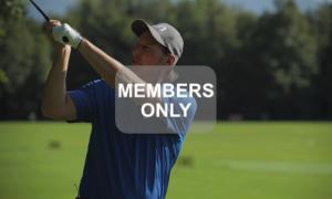 Golf lernen - Top-Treffmoment - Golftechnik