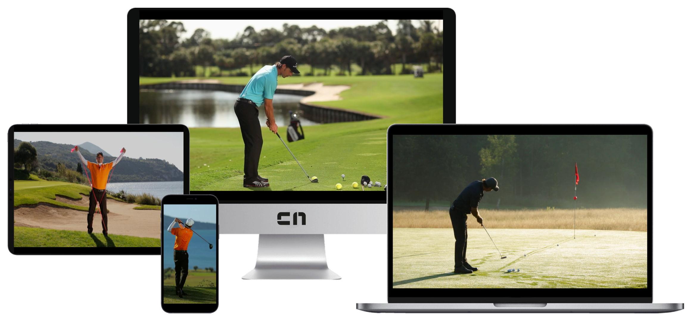 Golf lernen Videoportal - Mobil
