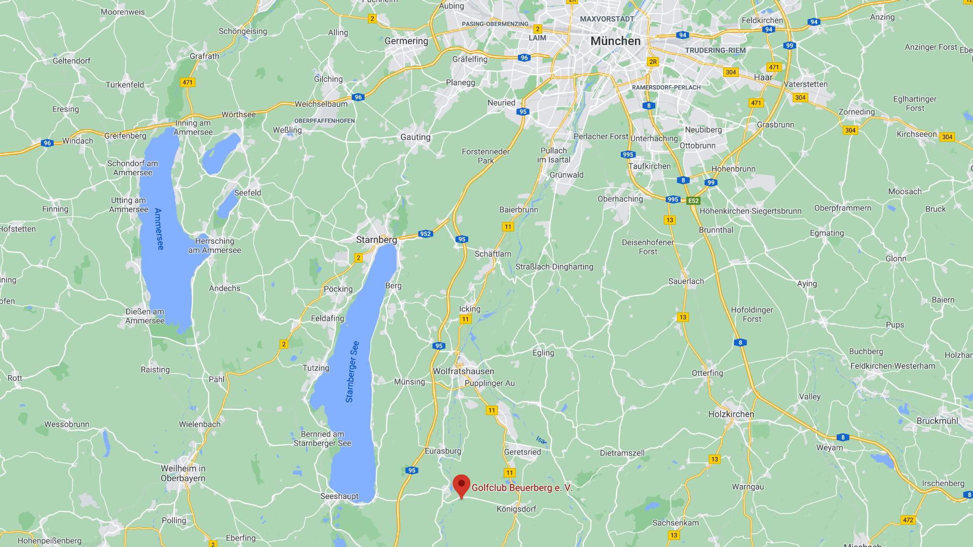 Golf lernen in München – Golfclub Beuerberg am Starnberger See