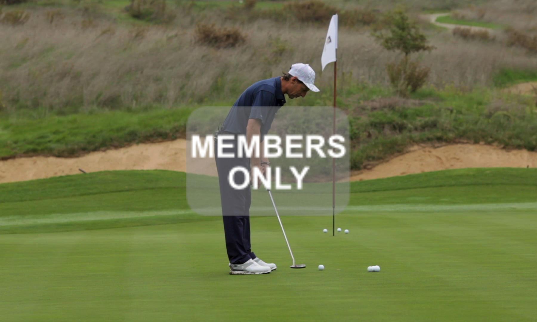 Golf Training im Golf lernen Videoportal – Putten – Körperteile – Golftechnik