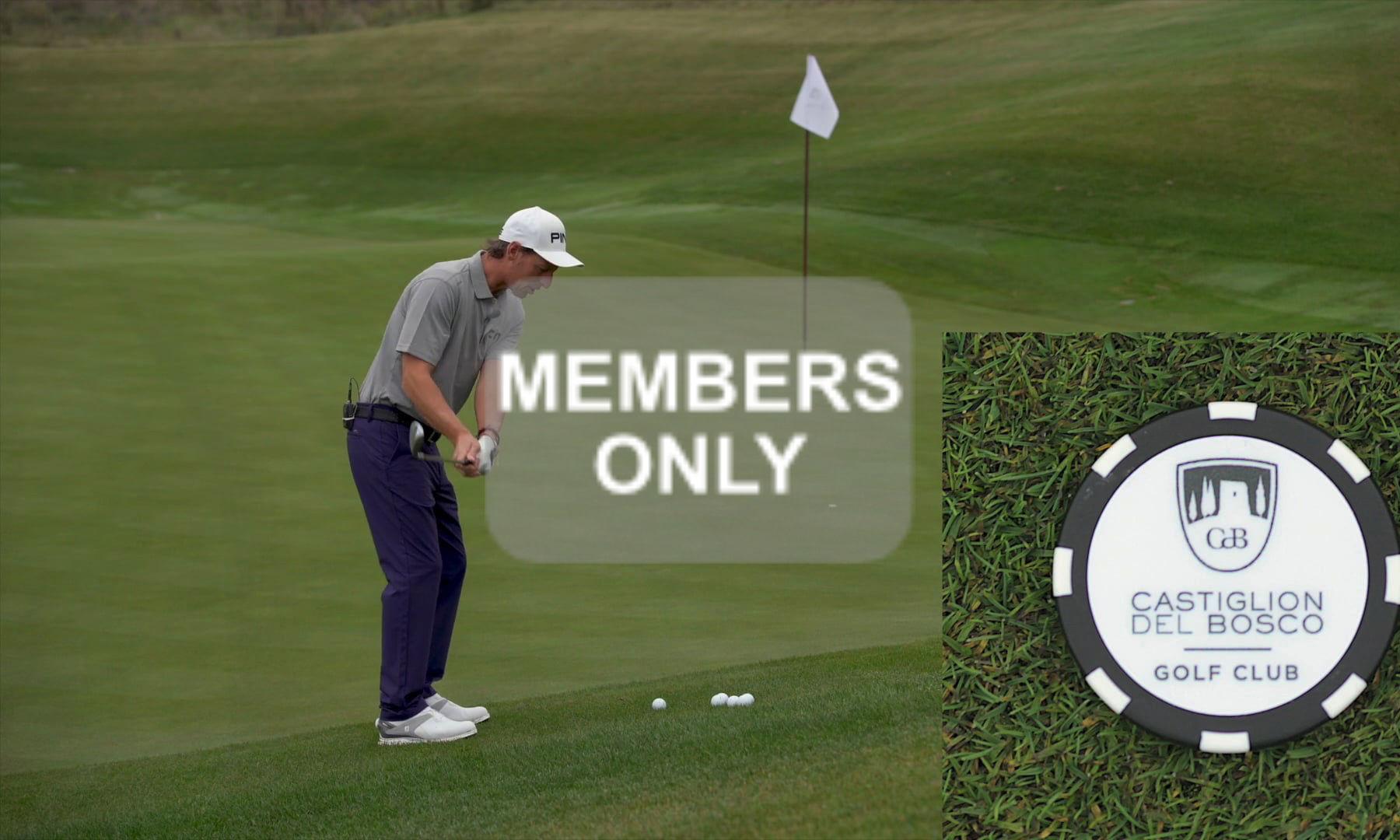 Golf Training im Golf lernen Videoportal – Annäherung – Hit the Spot