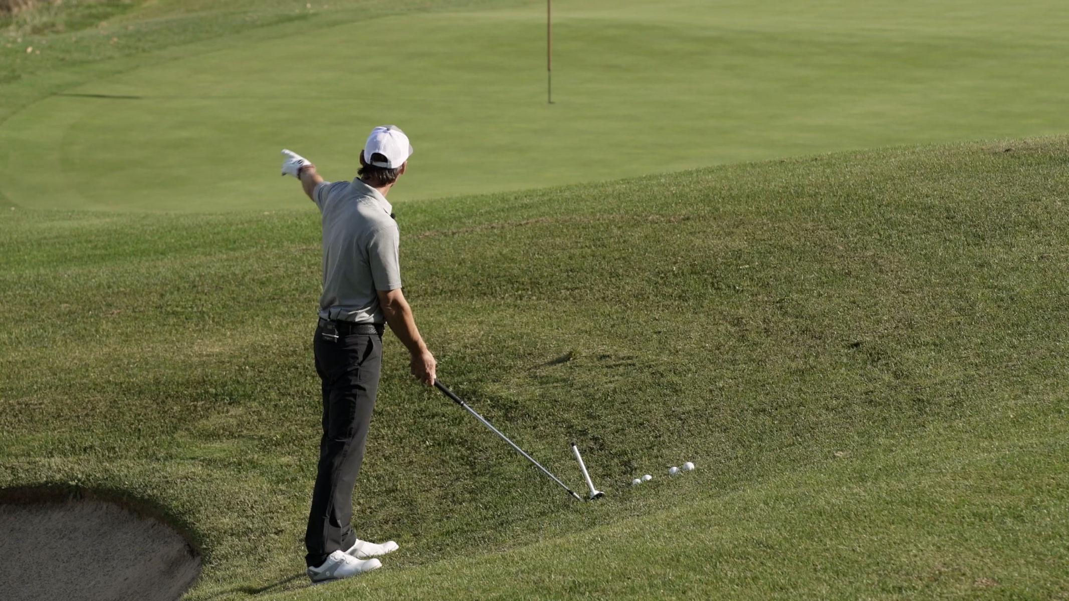 Golf Jugend – Schwere Lagen am Platz