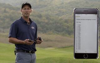 Golf Jugend – Turniervorbereitung