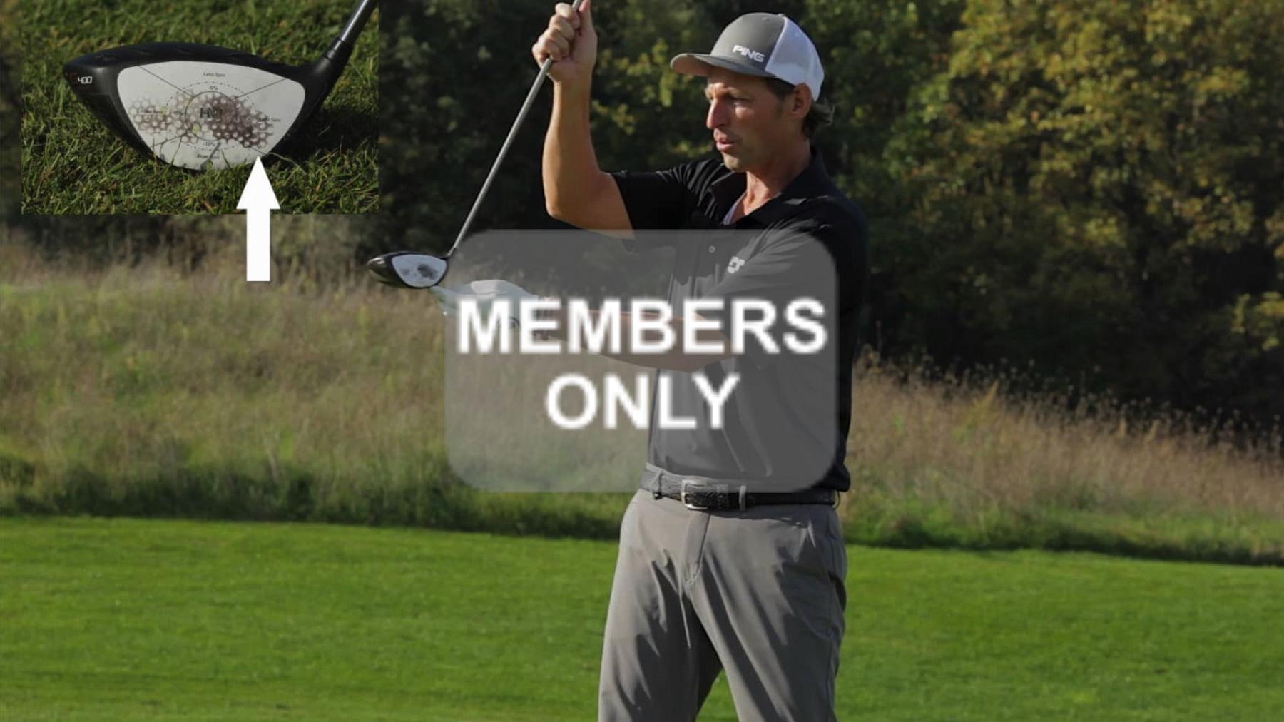 Golftraining | Richtungskontrolle | Keine Schuld | Golf lernen Videoportal - Sweetspot