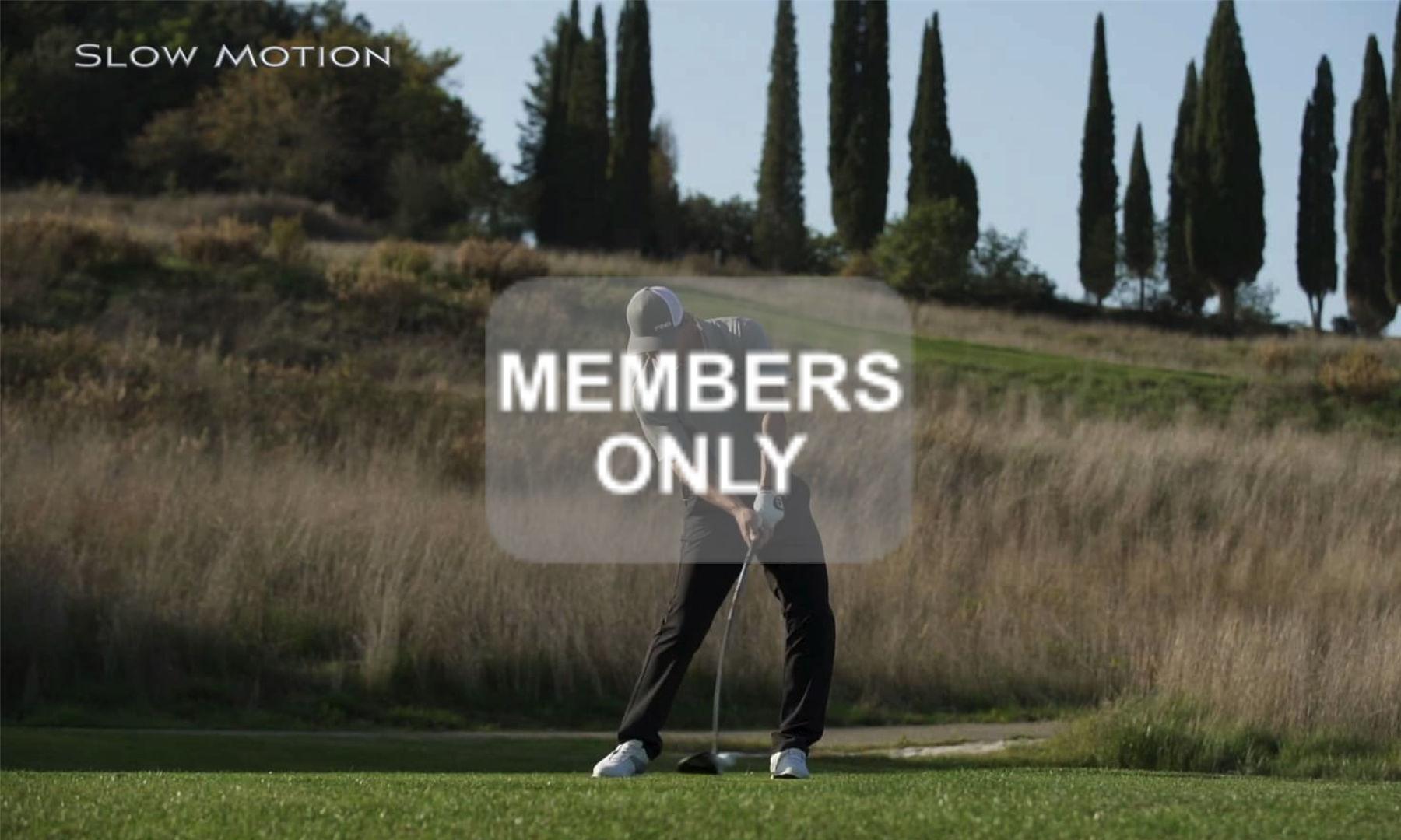 Golfschwung für Länge | Den Schläger Freilassen