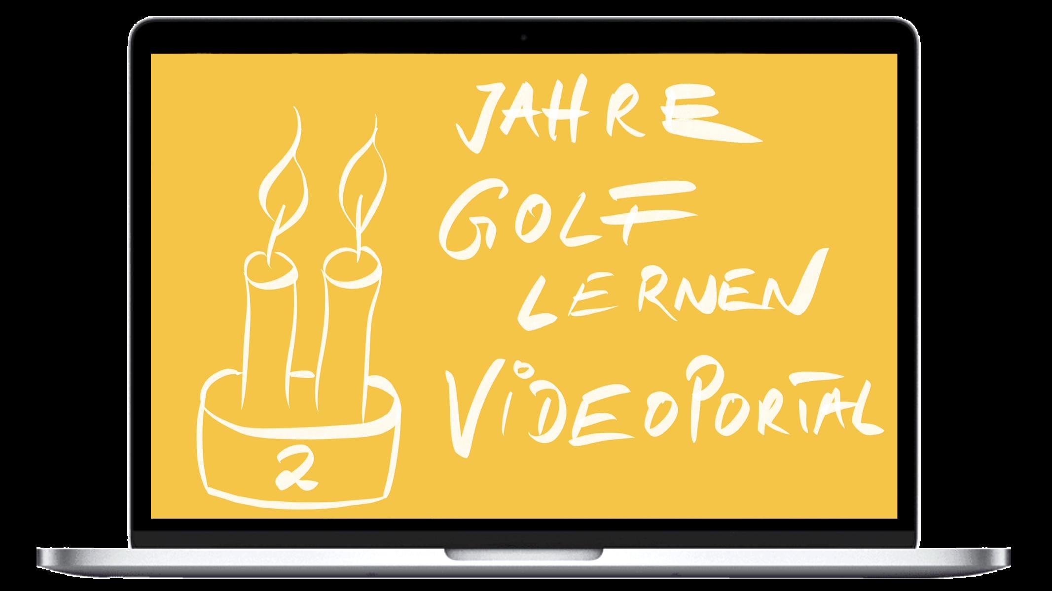 Golftraining Online | Das Golf lernen Videoportal ist nun 2 Jahre alt