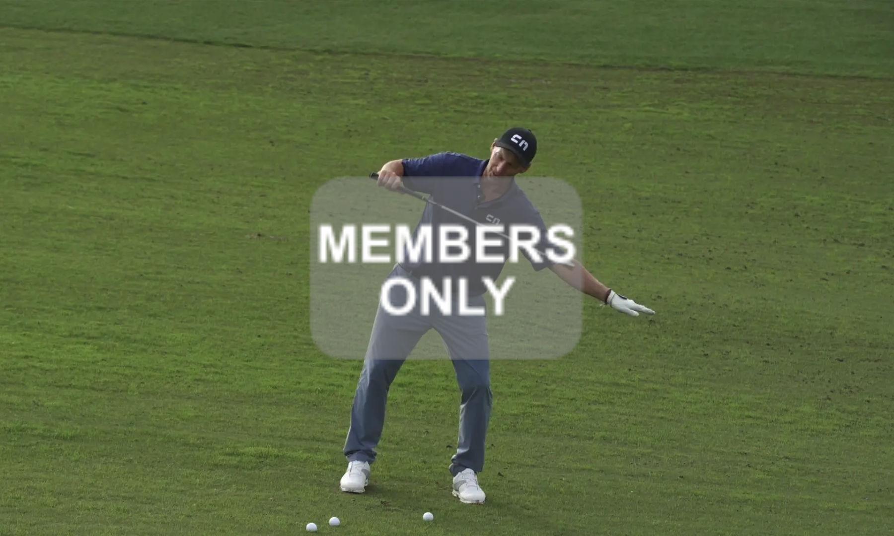 Golftraining in Schräglagen | Hanglagen im Golf lernen Videoportal erklärt | Die Balllage abwärts